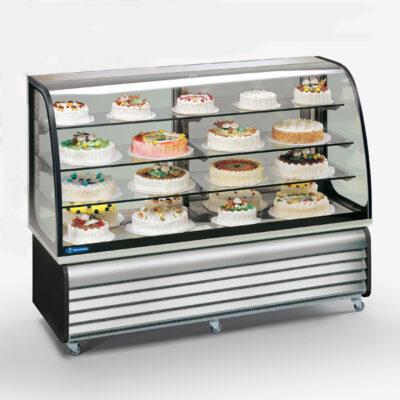 Vitrine frigorifice orizontale pentru cofetarie