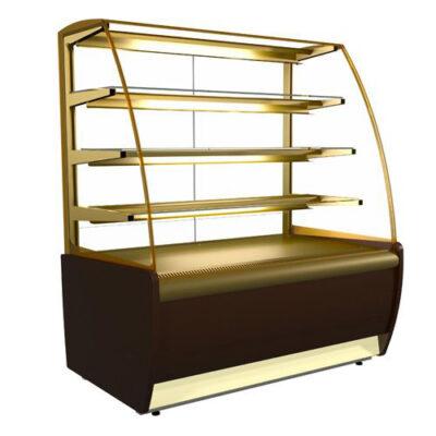 Vitrina frigorifica pentru cofetarie/patiserie FLANDRIA, 920x650mm