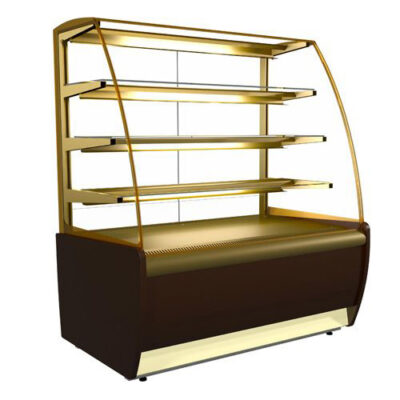 Vitrina frigorifica pentru cofetarie/patiserie FLANDRIA LUX, 900x700mm