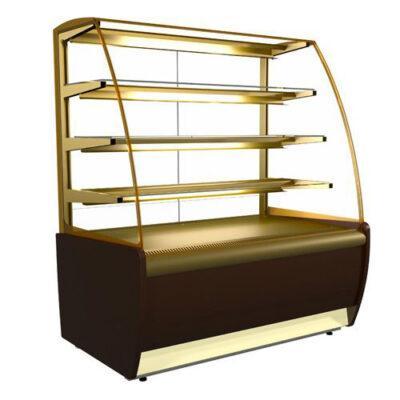 Vitrina frigorifica pentru cofetarie/patiserie FLANDRIA LUX, 1300x700mm