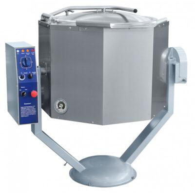 Marmita basculanta cu mixer si incalzire indirecta, 100 litri