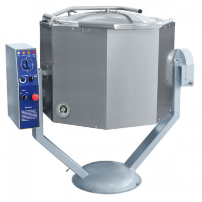 Marmita basculanta cu mixer si incalzire indirecta, 160 litri