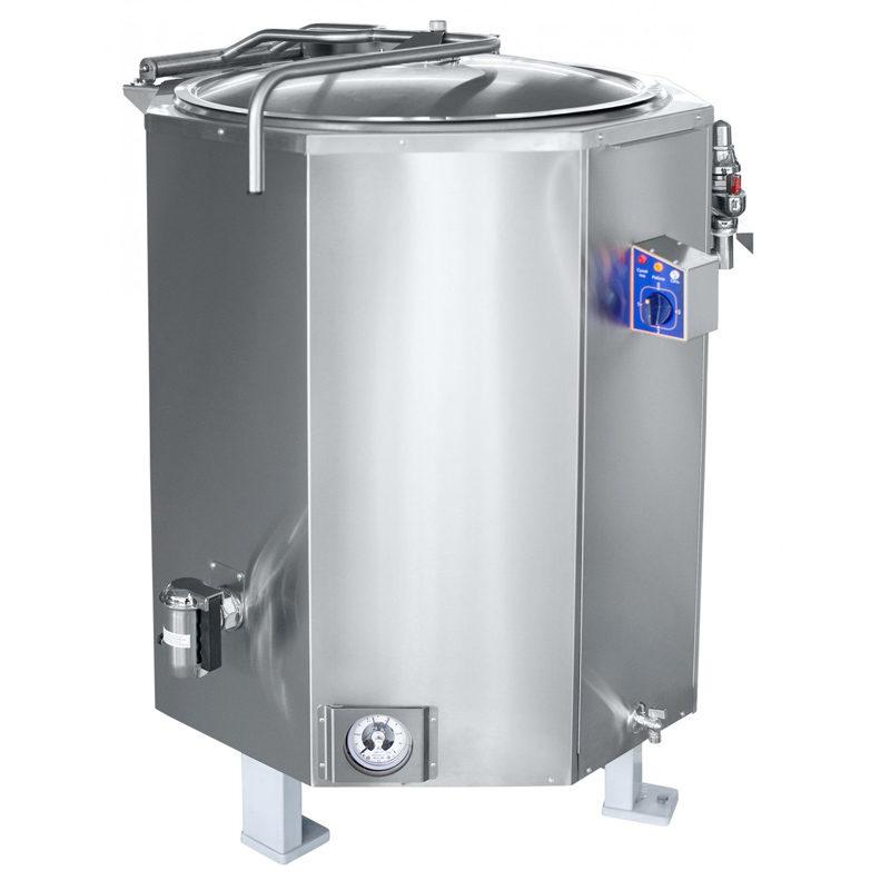 Marmita electrica, incalzire indirecta, 400 litri
