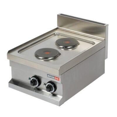 Masina de gatit electrica cu 2 plite rotunde 400x600mm