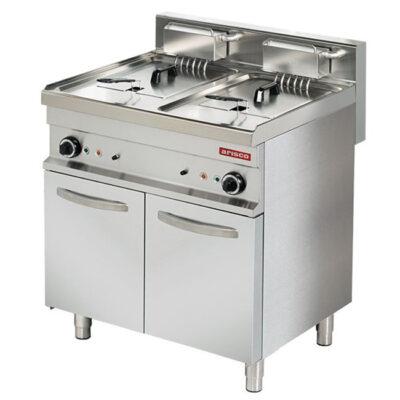Friteuza electrica 11+11 litri