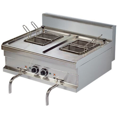 Masina electrica de gatit paste, 14+14 litri