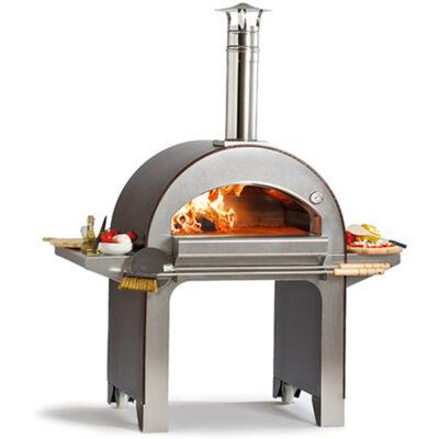 Cuptor pe lemne, 4 pizze