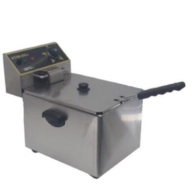 Friteuza electrica 6+6 litri