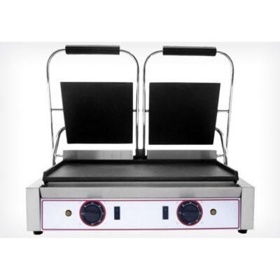 Toaster dublu cu mecanism prin apasare pe placi netede, 565x310mm