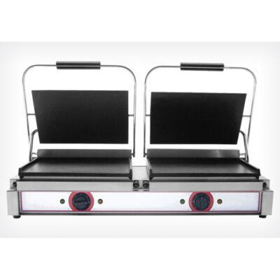 Toaster dublu cu mecanism prin apasare pe placi netede, 840x310mm