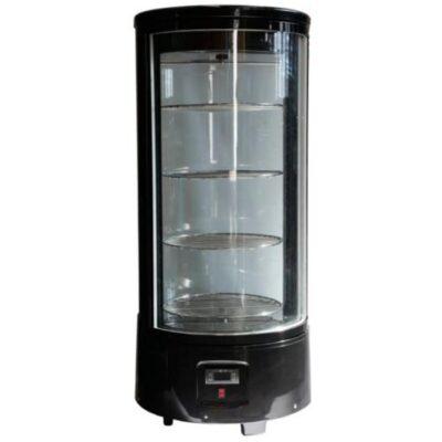 Vitrina frigorifica rotativa 72 litri