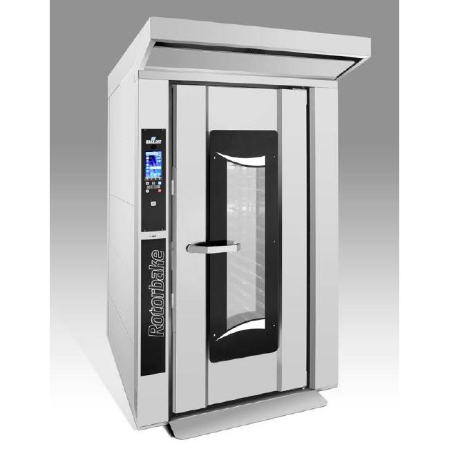 Cuptor rotativ termoventilat electric pentru patiserie si panificatie, 15 tavi