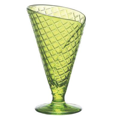 Cupa de inghetata 28cl GELATO-verde