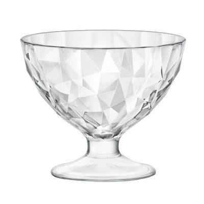 Cupa de inghetata 22cl DIAMOND transparenta