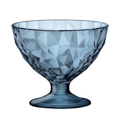Cupa de inghetata 22cl DIAMOND albastra