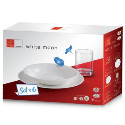 Set 18 piese WHITE MOON