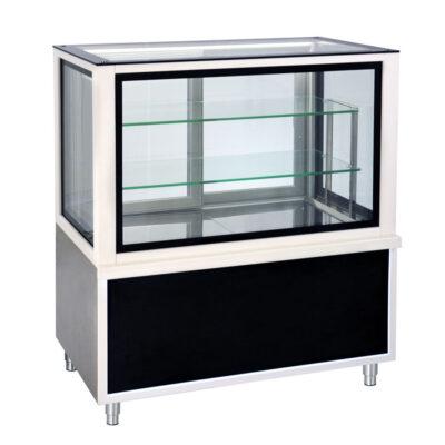 Vitrina calda pentru cofetarie/patiserie LUX, 1380x700mm