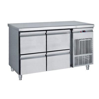 Masa frigorifica cu 4 sertare, 1390x700x850mm