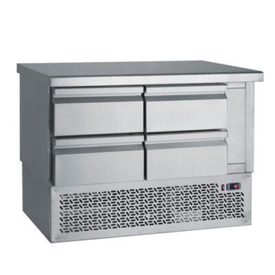 Masa frigorifica cu 4 sertare, 1100x700mm