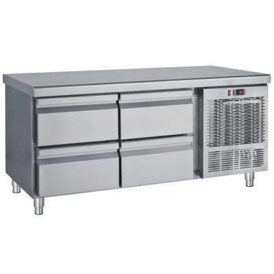 Masa frigorifica cu 4 sertare, 1390x700x680mm