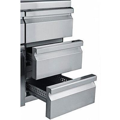 Sertare triple pentru mese frigorifice, 430x505mm