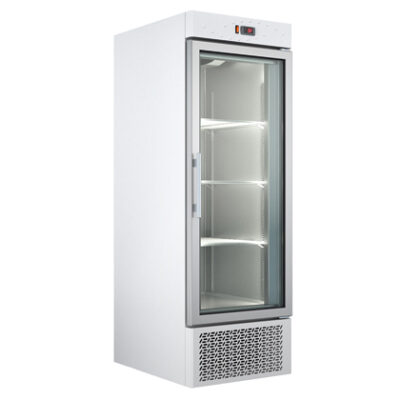 Dulap congelare cu usa din sticla, 440 litri