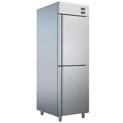 Dulap frigorific/congelare din inox, 700x820x2070mm