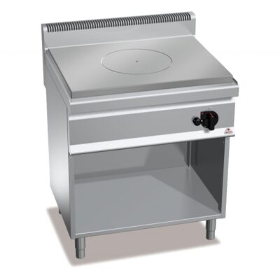Masina de gatit cu placa radianta si cadru deschis