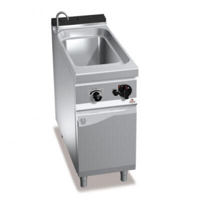 Masina de gatit paste pe gaz 40 litri cu dulap