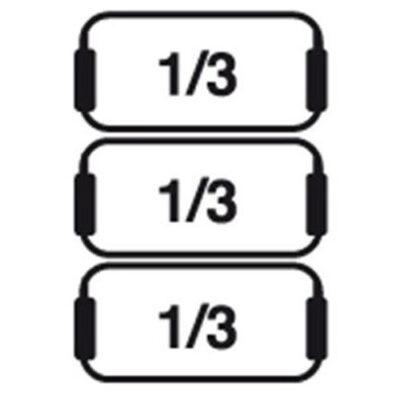 Set cosuri 3xGN1/3 pentru masina de gatit paste