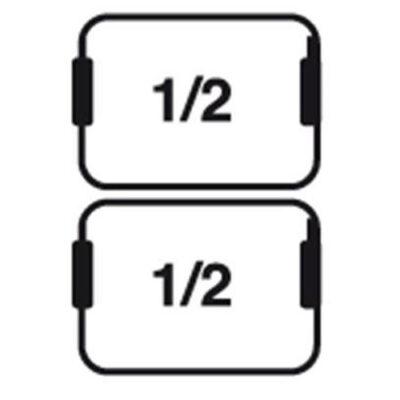 Set cosuri 2xGN1/2 pentru masina de gatit paste