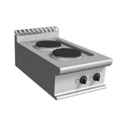Masina de gatit electrica cu 2 plite, 400x700mm