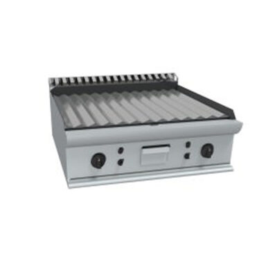 Fry top electric cu suprafata striata, 800x700mm