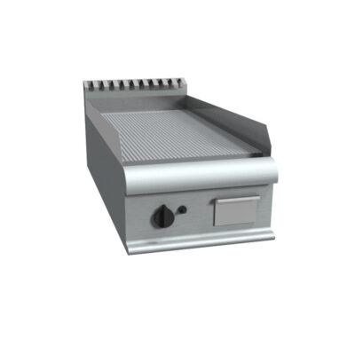 Fry top electric cu suprafata striata, 400x900mm