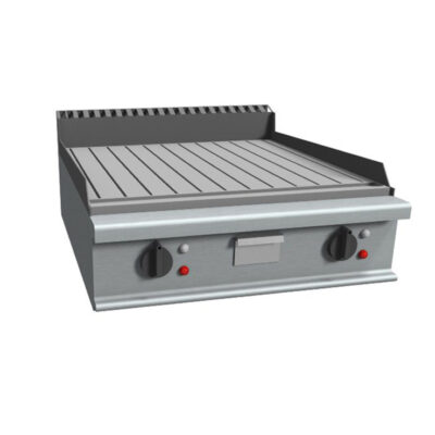 Fry top electric cu suprafata striata, 800x900mm