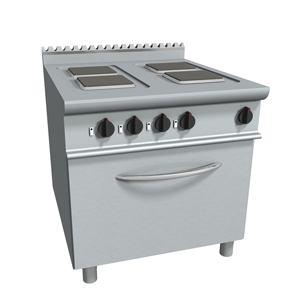Masina de gatit electrica cu 4 plite si cuptor