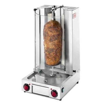 Aparat kebab electric cu 4 arzatoare, 10kg