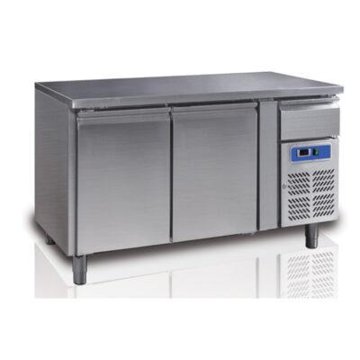 Masa frigorifica cu 2 usi si sertar, 1360x700mm