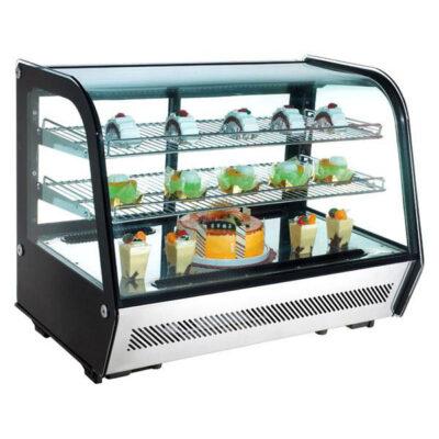 Vitrina frigorifica cu geam culisant 160 litri