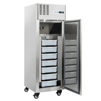 Dulap frigorific din inox pentru peste, 550 litri
