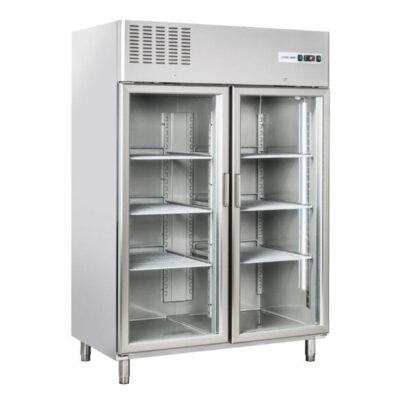 Dulap frigorific cu 2 usi din sticla, 1220 litri