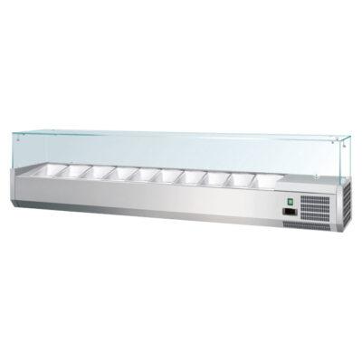 Vitrina frigorifica de banc 3xGN1/3 + GN1/2
