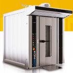 Cuptor electric rotativ pentru panificatie, pe gaz, 13-16 tavi 800x1000mm 1