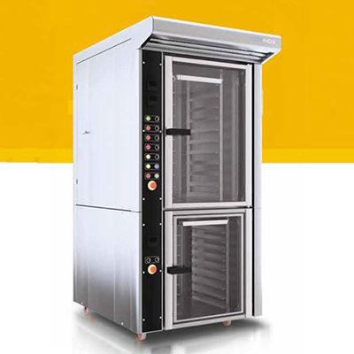 Cuptor electric cu convectie si dospitor pentru panificatie si patiserie, 10 tavi 600x400mm