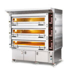 Cuptor electric panificatie, 3x 4 tavi 400x600mm