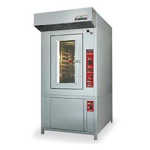 Cuptor rotativ termoventilat pe gaz pentru patiserie si panificatie, 10 tavi