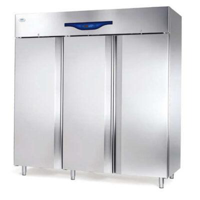 Dulap frigorific inox cu 3 usi, 2102 litri