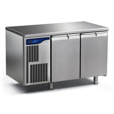 Masa frigorifica cu o usa si 2 sertare Pro Green, 1306mm