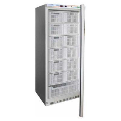 Dulap congelare din inox pentru casete, 555 litri