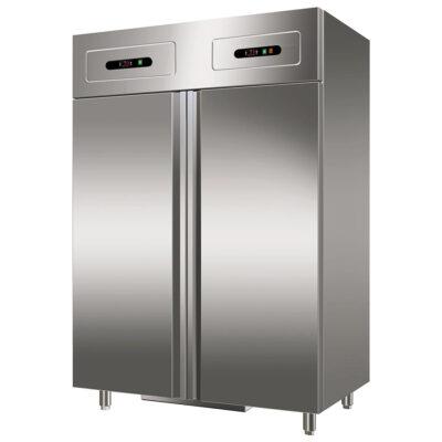 Dulap frigorific/congelare din inox, 552+552 litri